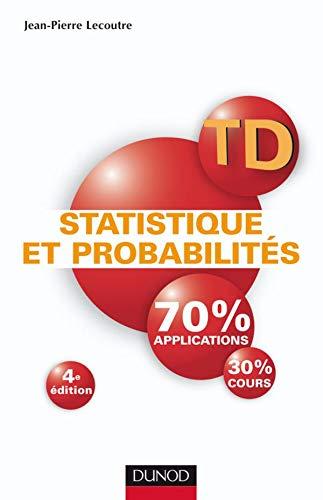 9782100517114: Statistique et probabilités : Travaux dirigés