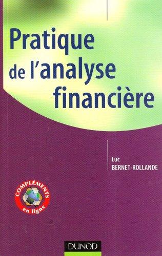 9782100523047: Pratique de l'analyse financière