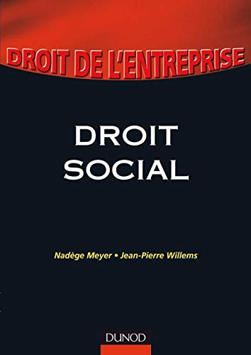 9782100523788: Droit social (French Edition)