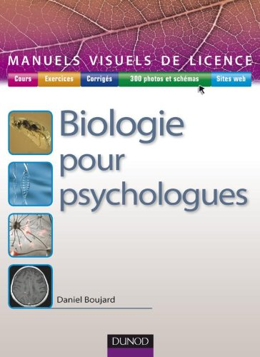 9782100525485: Biologie pour psychologues