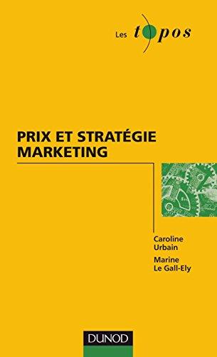 9782100529186: Prix et strat�gie marketing