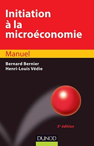 9782100529643: Initiation a la microeconomie (French Edition)