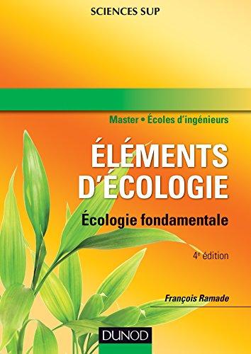 9782100530083: Eléments d'écologie : Ecologie fondamentale