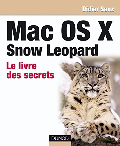9782100533084: Mac OS X Snow Leopard