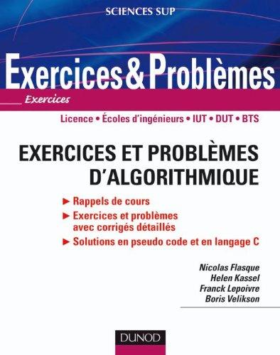 9782100533107: Exercices et problèmes d'algorithmique