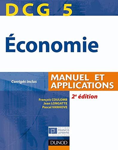9782100533909: DCG 5 Economie (French Edition)