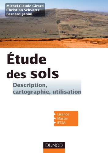 9782100540211: Etude des sols - Description, cartographie, utilisation
