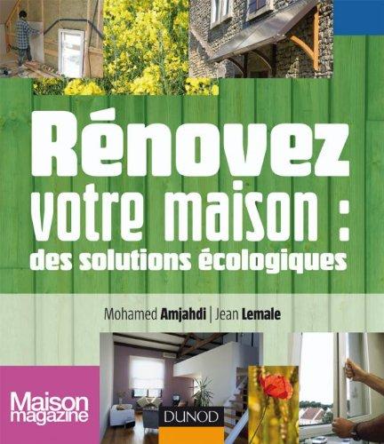 9782100541003: Renovez votre maison (French Edition)