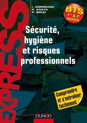 9782100543014: S�curit�, hygi�ne et risques professionnels
