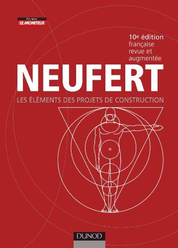 9782100543175: Les éléments des projets de construction - 10e édition revue et augmentée