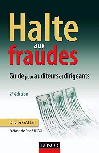 9782100543366: Halte aux fraudes : Guide pour auditeurs et dirigeants