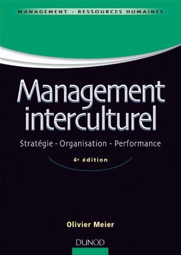 9782100544448: Management interculturel - 4�me �dition - Strat�gie . Organisation . Performance