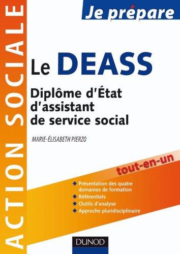 9782100544813: Je prépare le DEASS - Diplôme d'État d'assistant de service social
