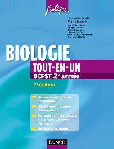 9782100544912: Biologie 2e annee BCPST tout-en-un (French Edition)