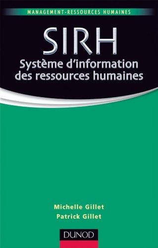 9782100545599: SIRH Système d'information des ressources humaines (Management Sup)