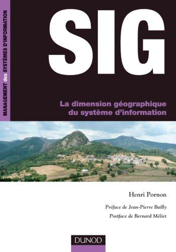 9782100546008: SIG La dimension géographique du système d'information