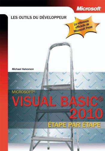 9782100547449: Visual Basic 2010 - Etape par Etape