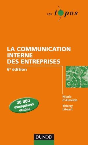 9782100549436: La communication interne des entreprises - 6e édition