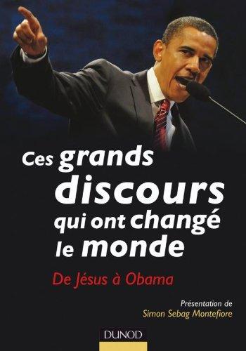 9782100549870: Ces grands discours qui ont changé le monde - De Jésus à Obama (Hors collection)