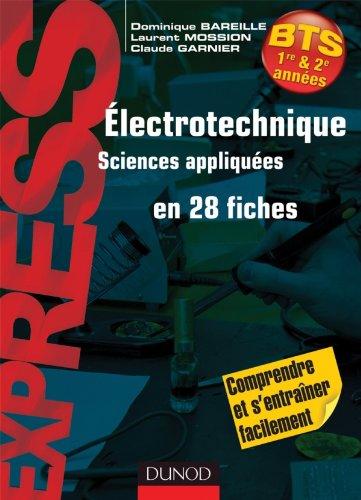 9782100556175: Electrotechnique en 28 fiches - BTS