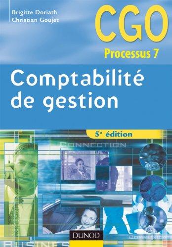 9782100559992: Comptabilité de gestion - 5ème édition - Manuel