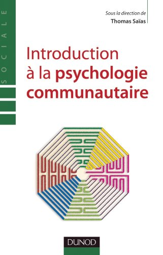 9782100566907: Introduction à la psychologie communautaire