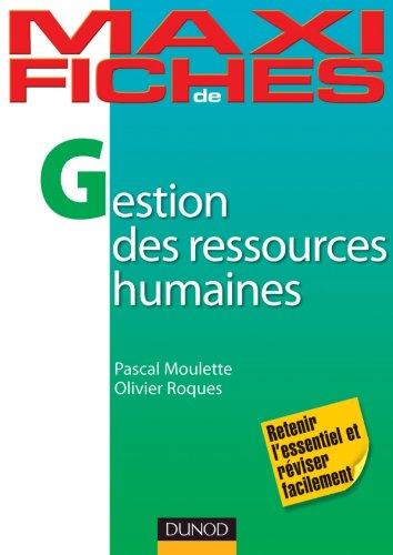 9782100567119: maxi fiches de gestion des ressources humaines