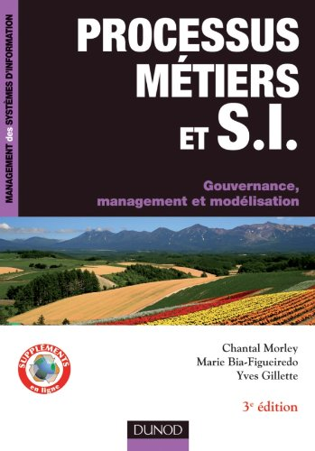 9782100569113: Processus métiers et S.I. - Gouvernance, management, modélisation - 3e édition