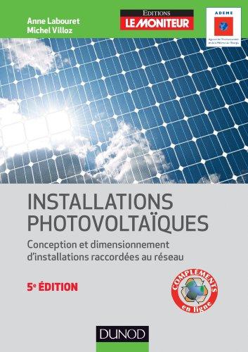 9782100572472: energie solaire photovoltaique - 5eme edition