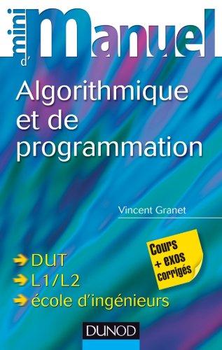 9782100573509: Mini manuel d'algorithmique et programmation