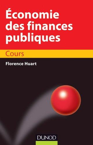 9782100574537: �conomie des finances publiques - Cours