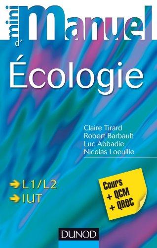 9782100574582: Mini Manuel d'écologie