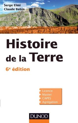9782100575954: histoire de la terre (6 édition)