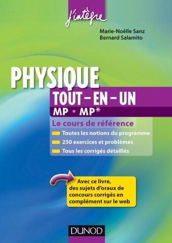 9782100578696: physique tout-en-un mp-mp* - cours et exercices corriges