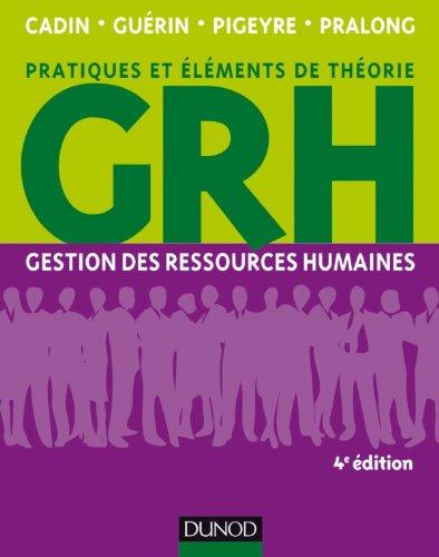 9782100578931: gestion des ressources humaines - 4eme edition