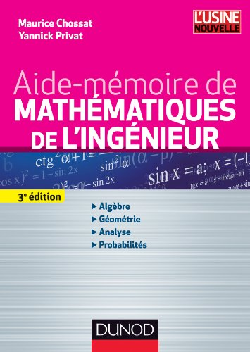 9782100582402: Aide-mémoire de mathématiques de l'ingénieur - 3ème édition