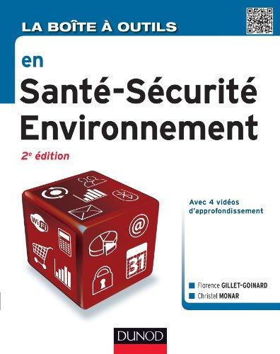 9782100587605: La Boîte à outils en Santé-Sécurité-Environnement - 2e éd.