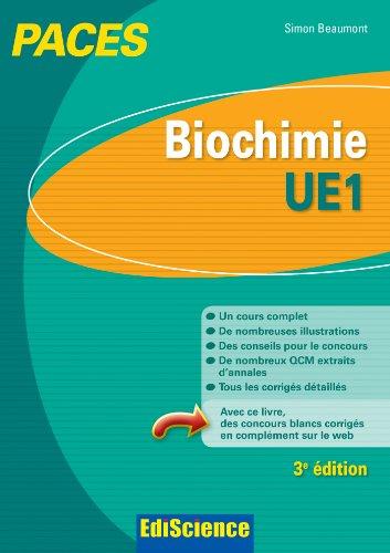 9782100598410: Biochimie-UE1 PACES - 3e �d.: Manuel, cours + QCM corrig�s