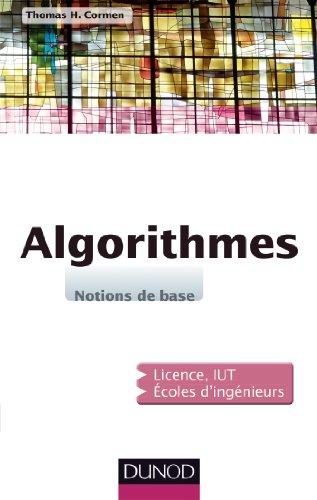 9782100701513: Algorithmes - Notions de base