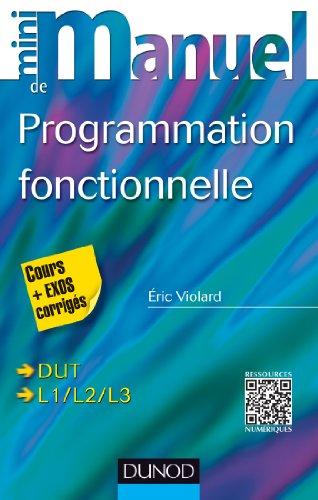 9782100703852: Mini-manuel de Programmation fonctionnelle