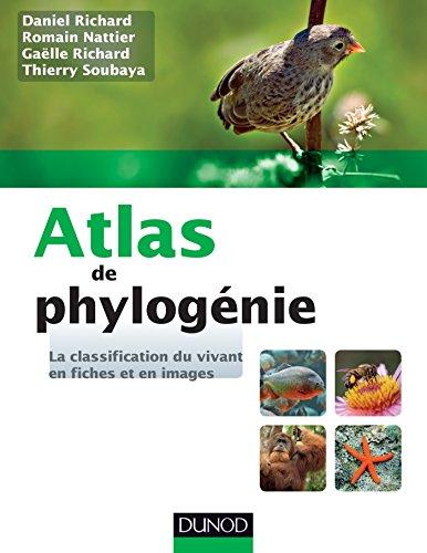 9782100704453: Atlas de phylogénie - La classification du vivant en fiches et en images: La classification du vivant en fiches et en images
