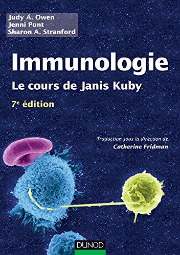 9782100705436: Immunologie - 7e édition: Le cours de Janis Kuby avec questions de révision
