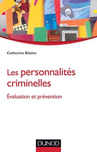 9782100710355: Les personnalit�s criminelles - Evaluation et pr�vention