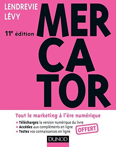 9782100711079: Mercator 11e édition - Tout le marketing à l'ère numérique. Avec e-book