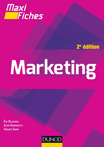 9782100711154: Maxi fiches - Marketing - 2e éd.