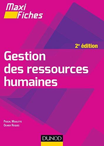 9782100711321: Maxi Fiches de Gestion des ressources humaines - 2e édition