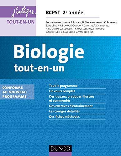 9782100711451: Biologie tout-en-un BCPST 2e année - 3e éd. - nouveau programme 2014