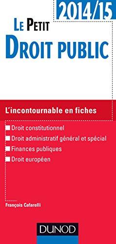9782100716555: Le petit Droit public 2014/2015