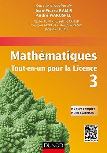 9782100716890: Mathématiques Tout-en-un pour la Licence 3: Cours complet avec applications et 300 exercices corrigés
