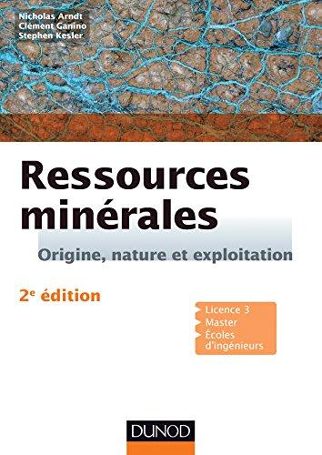 9782100720491: Ressources min�rales - 2e �d. - Cours et exercices corrig�s